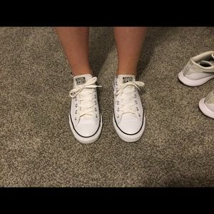 Converse Chuck Taylor All Star Low Top Sneakers.